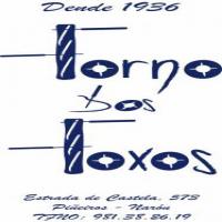 """A idea do logotipo xoga co elemento principal do PAN. As líneas verticais das """"F"""" nambas verbas """"FORNO"""" e """"FOXOS"""" son barras e as horizontais simulan os coitelos que están cortandoas."""